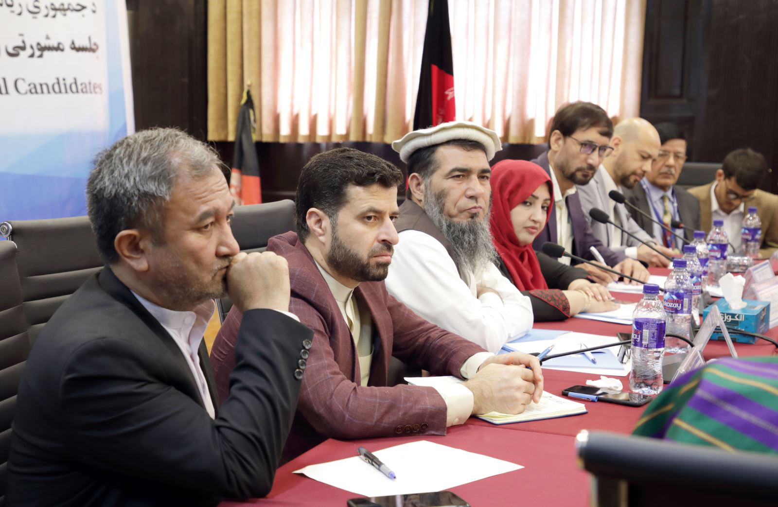 ECC consultation and coordination meeting with presidential candidates